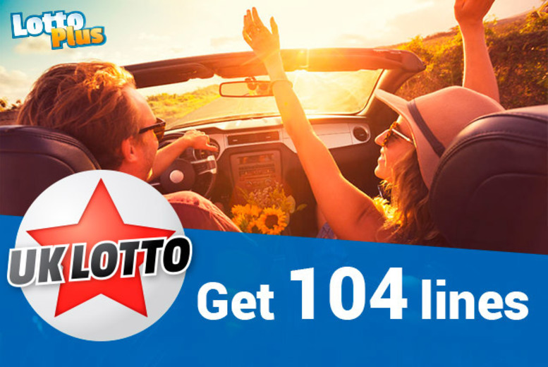 £4 instead of £12 (with Lotto Plus) for 104 lines in eight draws with one share (mini) in the UK Lotto Syndicate - save 67%