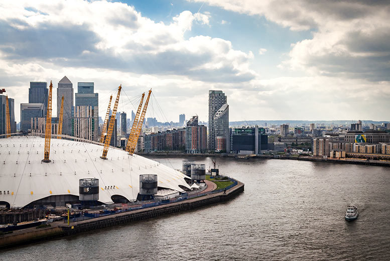 UK City Breaks: 4* London Stay, Breakfast, Up at The O2 Experience & River Cruise