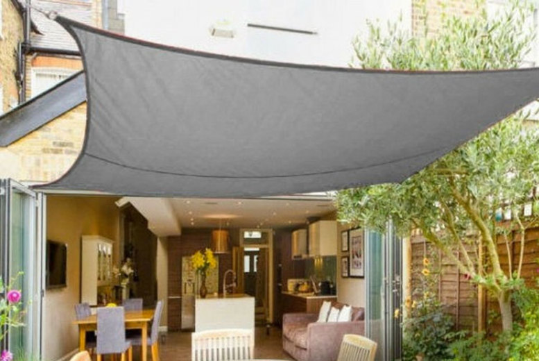 Square Sun Shade Canopy – 2 Sizes & 4 Colours!