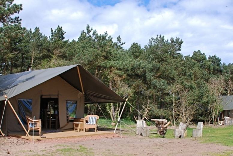 4nt Luxury Beach Glamping Stay for 8, East Lothian