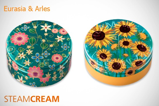 £9.99 instead of £25.90 (from STEAMCREAM) for a set of 2 all-in-one moisturisers in a choice of tin designs, as featured in VOGUE – save 61%