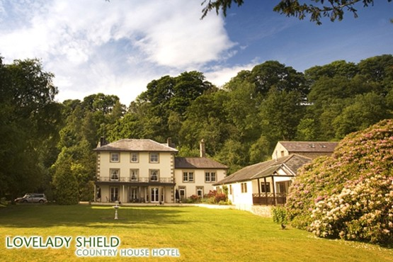 £99 instead of up to £240 for a 2 night stay for 2 and breakfast at the Lovelady Shield Country House Hotel, Cumbria – up to save 59%