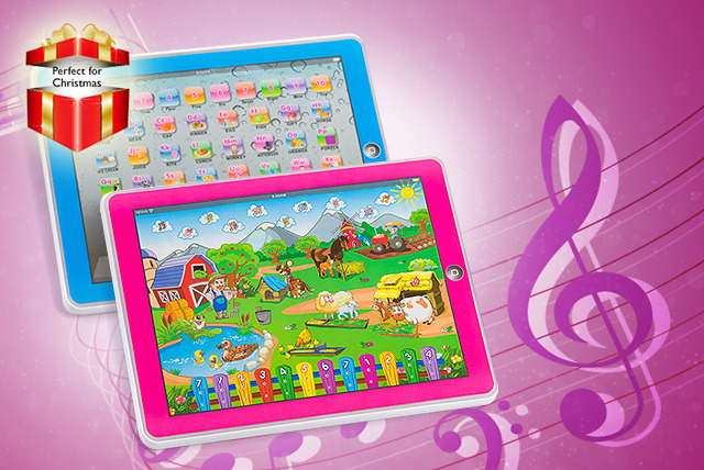 £10 instead of £24.99 (from Juggernet.com) a Y-Pad kids' tablet in your choice of blue or pink - save 60%