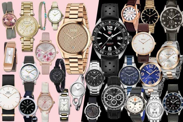 Mystery Watch Deal - Tag Heuer, Gucci, Hugo Boss, Kahuna & More!