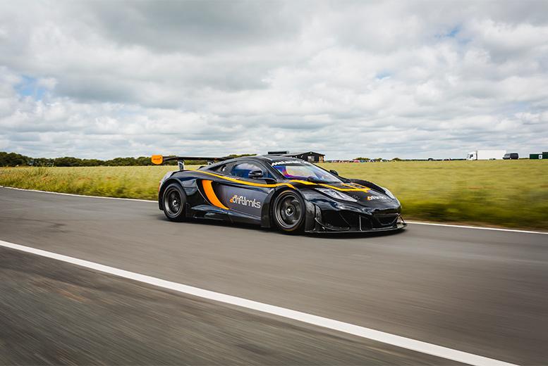 Activities: McLaren GT3 Race Car Driving Experience - 14 Laps!