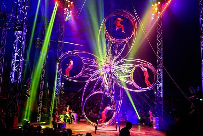 Edinburgh: Circus Extreme Ticket @ Gyle Park, Edinburgh for £13.5
