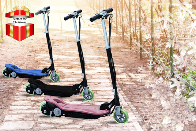 £69 instead of £199.99 (from Giant Red 7) for a 120W electric scooter in a choice of three fab colours - save a speedy 65% + DELIVERY IS INCLUDED!