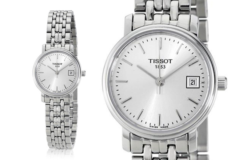 Swiss-Made Tissot Stainless Steel Ladies' Watch