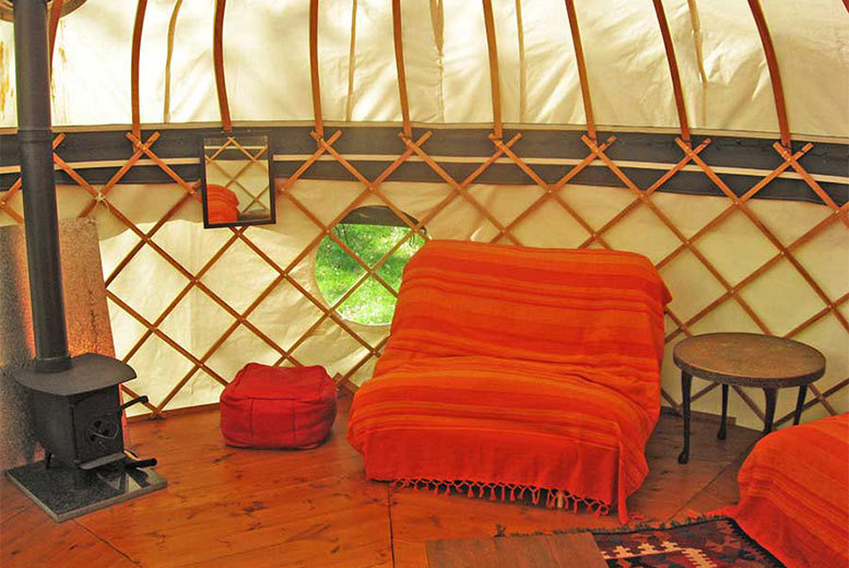 Spas & Country House: 4nt Lake District Yurt Glamping for 4 @ Inside Out Camping