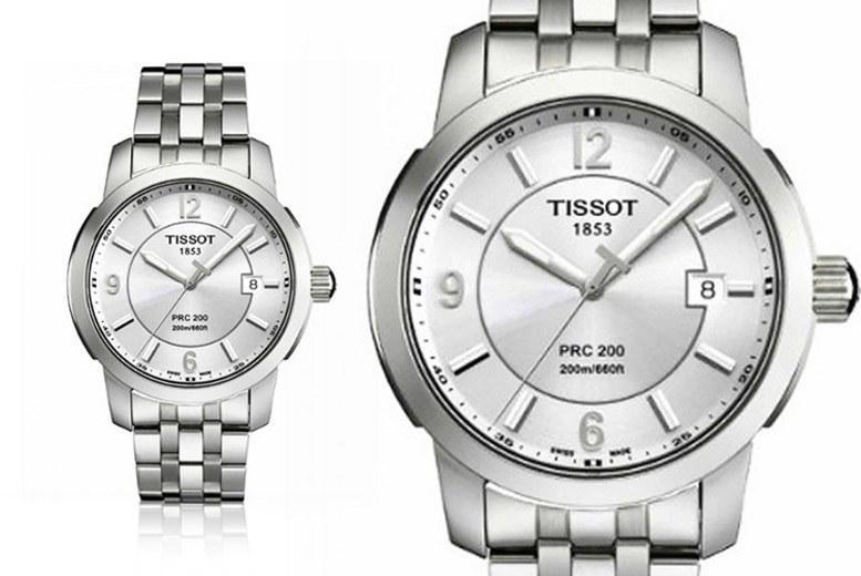 Swiss Made Men's Tissot Watch PRC200