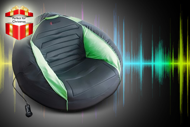 £49.99 instead of £99.99 (from Giinii.co.uk) for a lrge X-Rocker gaming & multimedia beanbag compatible with Xbox, PlayStation & more - save 50%