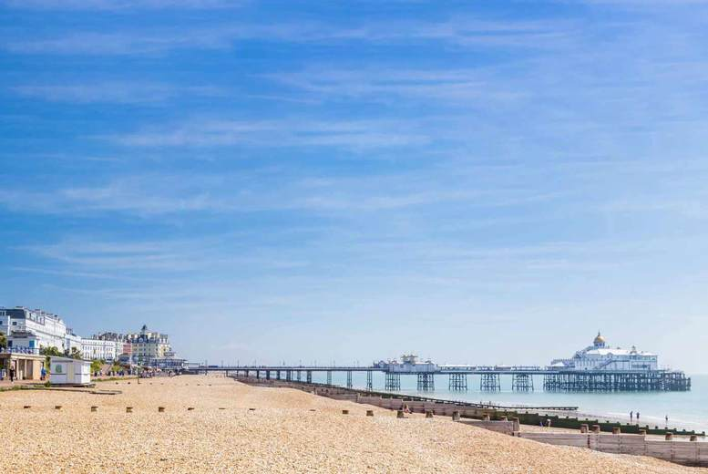 Seafront Eastbourne Getaway & Breakfast for 2 or 4