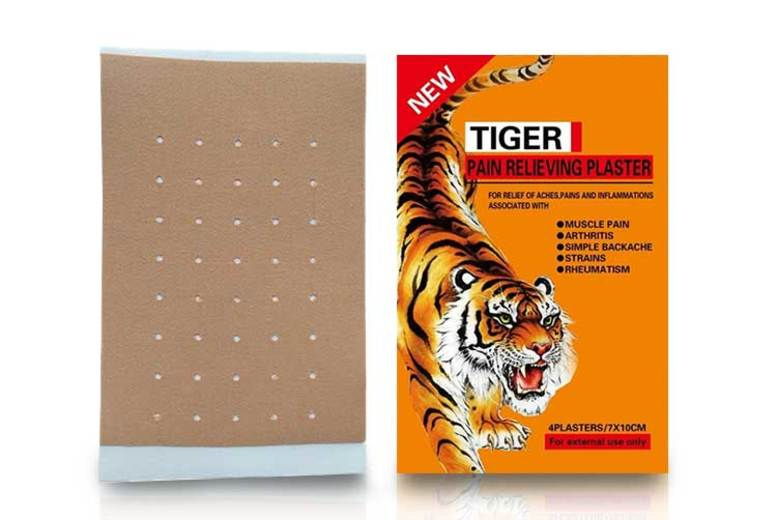 4pk Tiger Balm Pain Relieving Patches