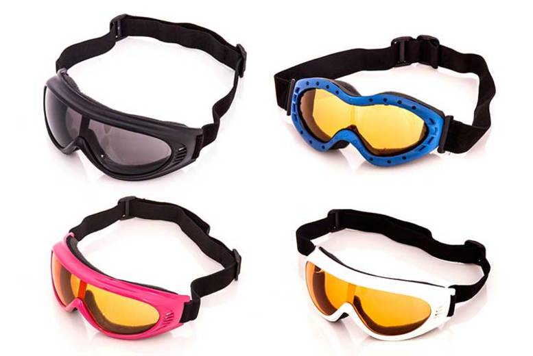 Kids Ski Goggles – 4 Colours! for £4.99