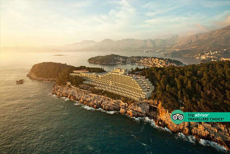 """5* Luxury Half-Board Croatia Break & Flights – Award-Winning Hotel"""""""