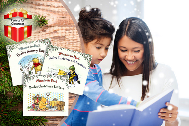 From £3.99 instead of up to £8.97 (from Kids IQ Books) for a Winnie the Pooh book collection - save up to 56%