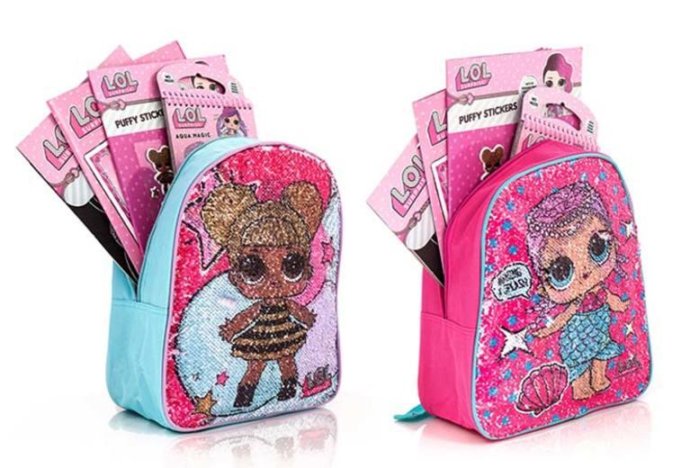 LOL Surprise Backpack & Craft Set – 2 Designs! for £8.99