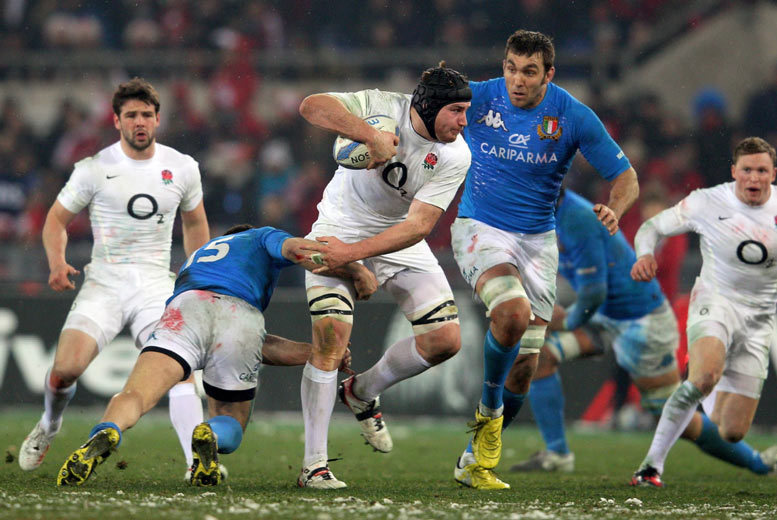 Six Nations 2020: Italy vs. England or Scotland + Rome Stay