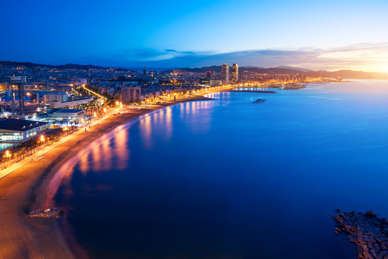 2-4nt 4* Barcelona Escape, Transfers & Flights