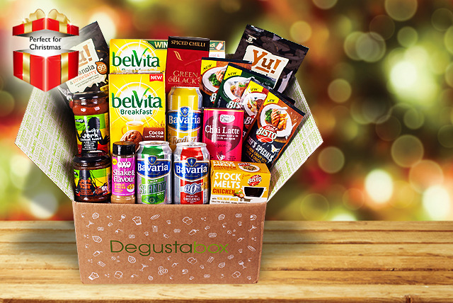 £4.99 instead of up to £9.98 (from Degustabox) for a 1-month food hamper subscription - try something new and save up to 50%