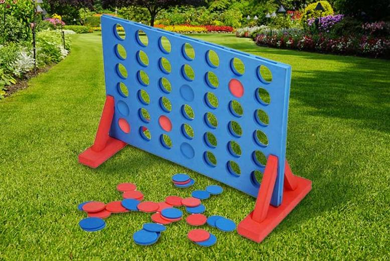 Giant Outdoor Foam Connect 4 Game for £9.99