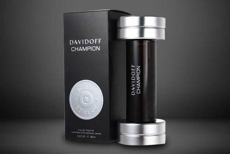 50ml or 90ml Davidoff Champion EDT from £17.99