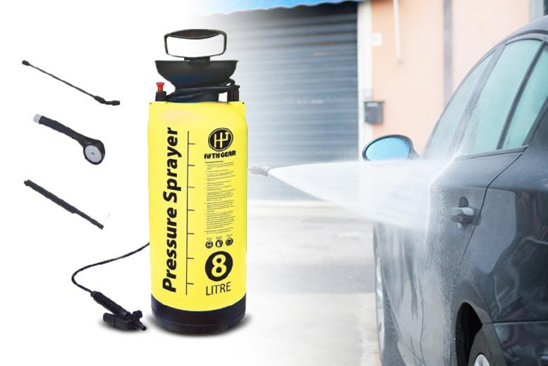 8L Garden Pressure Sprayer for £11.99