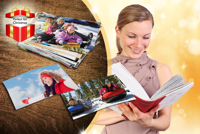 "£4.99 instead of £13.50 (from Snapfish by HP) for 150 6"" x 4"" photo prints - save a snappy 63%"