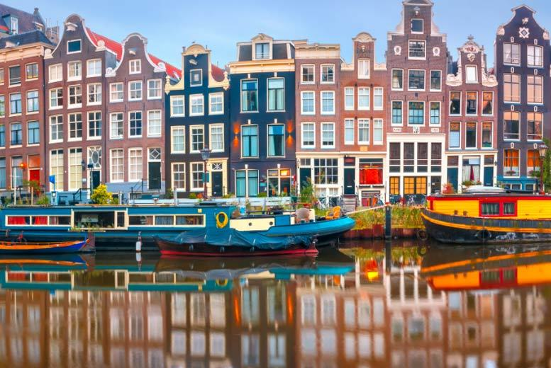 From £79pp (from Weekender Breaks) for a two-night Amsterdam city break with return flights, from £169pp for three nights - save up to 51% from Weekender Breaks