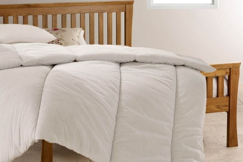 13.5 Tog Bounce Back Winter Duvet & Two Pillows – 4 Sizes! from £12