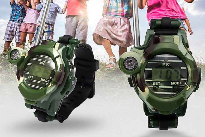 A pair of WalkieTalkie Watches