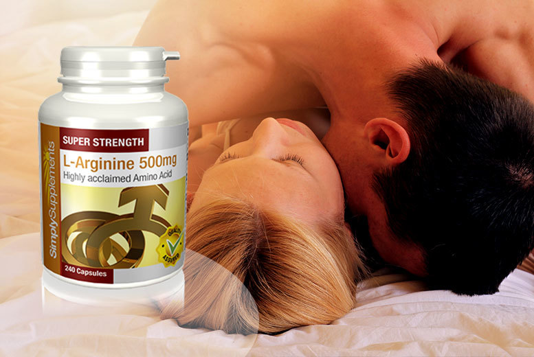 £7 instead of £11.91 (from Simply Supplements) for an eight month supply* of L-Arginine sexual enhancement capsules - get it on and save 41%