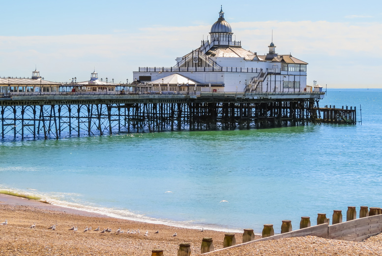 £89 instead of up to £160 for an Eastbourne escape for two people, with dinner, breakfast and late check-out, £139 for two nights - save up to 43%