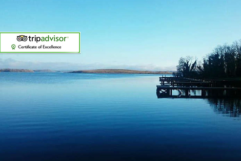From £99 for a two-night Irish Island stay for two people with a full Irish breakfast, Prosecco and £10 activity voucher each at Lusty Beg Island - save up to 62%