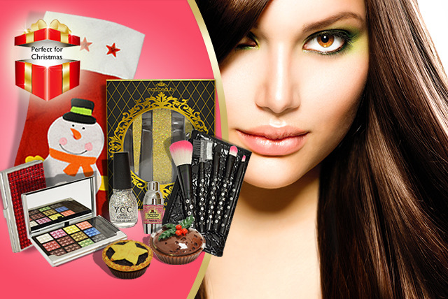 £24.99 instead of £65.92 (from Millennium Nails) for a Christmas beauty stocking filled with beauty products and accessories - save 62%