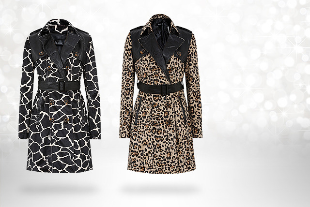 £44 instead of £89.99 (from Top Notch Fashion) for a trench coat in a choice of 4 designs - save 51%