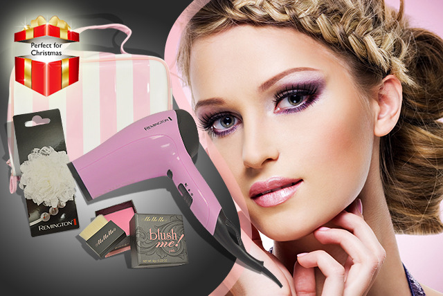 £28 instead of £54.99 (from Chemist Direct) for a Remington Natural Beauty Hair Dryer gift set - save 49% + DELIVERY INCLUDED