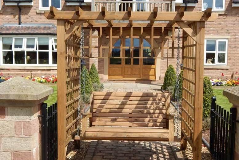 Garden Arbour Swing