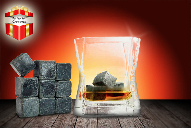 £7.99 (from Merchtopia) for a set of 9 whisky stones or 4 whisky disks, or £11.99 for both - save up to a cool 72%