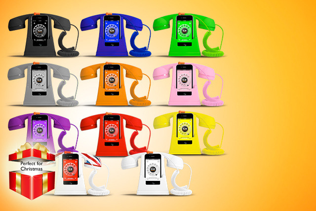 £9.99 instead of £30 (from Shade Station) for a retro-style Ice-Phone in a choice of 11 colours - save 67%