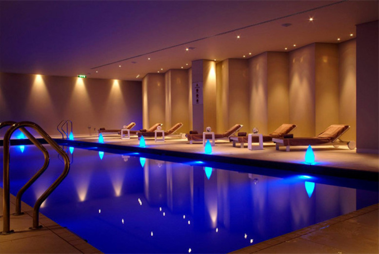 4* Spa Access, 4 Luxury Spa Treatments & Executive Lounge Pass for 2