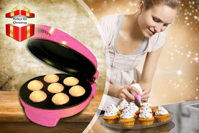 £13.99 instead of £24 (from Sherwood Direct) for an Electronic Mini Cupcake Maker inc. a recipe guide - save 42%