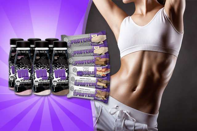 £14.99 instead of £29.99 (from Real Nutrition Co.) for a protein shake and bar variety pack - save 50%