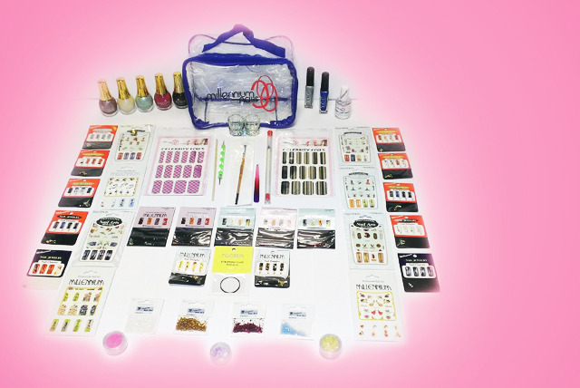 £29 instead of £166.18 (from Millennium Nails) for a 60-piece Mega Millennium nail art kit including a presentation bag - save 83%