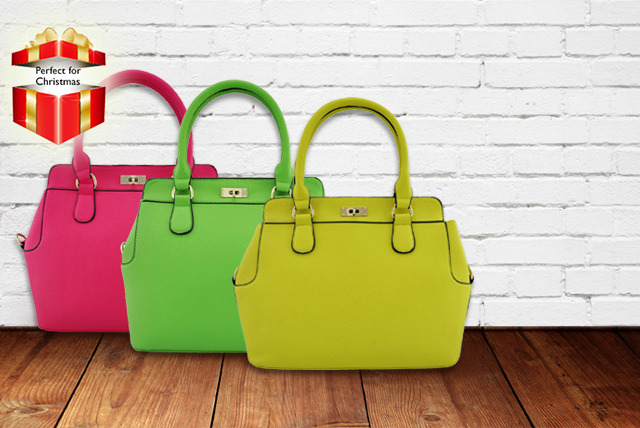 £19.99 instead of £71.99 (from Pearl Fashion) for a plain or scarved tote bag in a range of colours, or £22 for a studded tote bag - save up to 72%