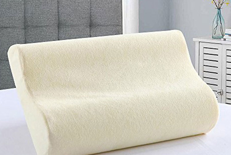 Orthopaedic Contour Memory Foam Pillow – 1 or 2! for £8.99