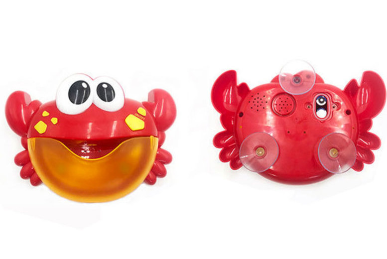 Kid's Crab Bubble Bath Toy - 12 Songs!