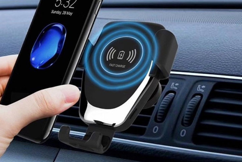 Qi Wireless In-Car Smartphone Charger