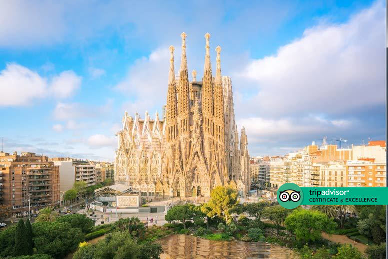 2-3nt Central Barcelona Escape & Flights