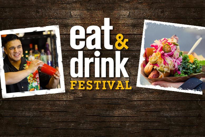 2 Tkts to Eat & Drink Festival 2019 @ SEC Glasgow